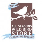All Seasons Wild Bird Store Anniversary Logo