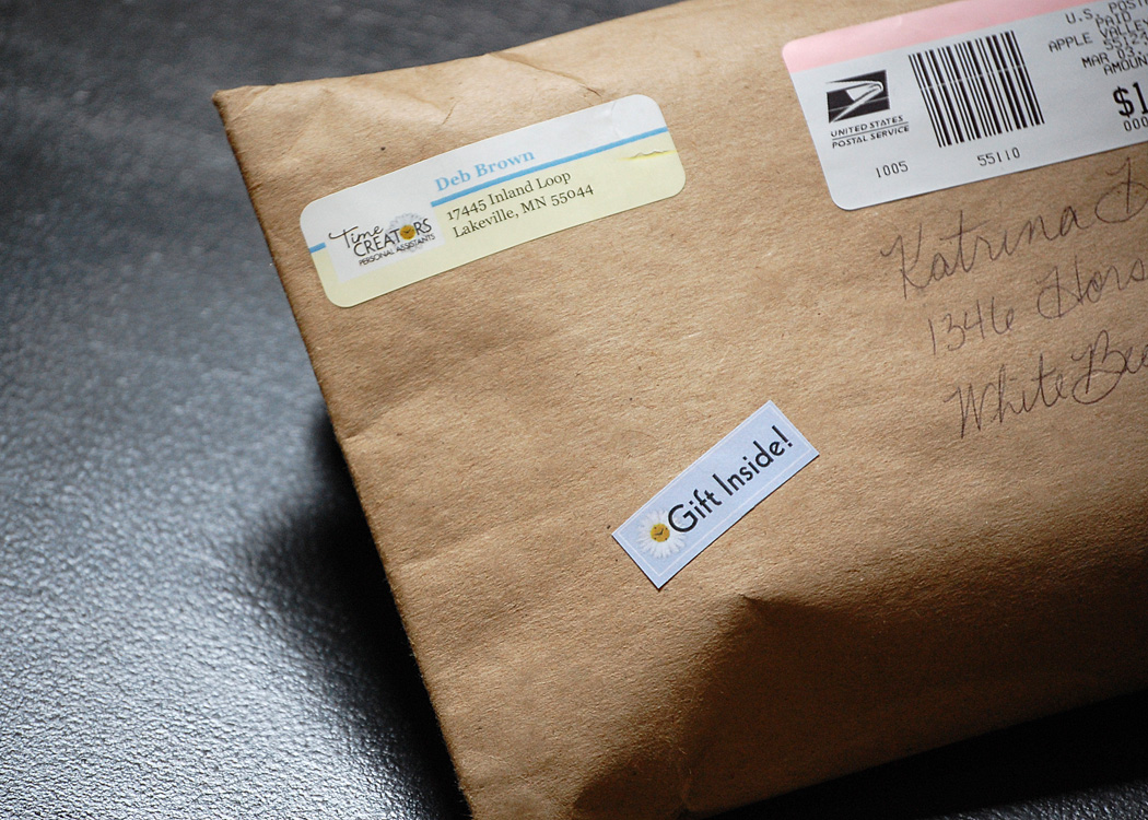 gift of time direct mail campaign