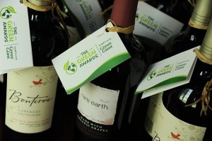 The Green Awards wine tags