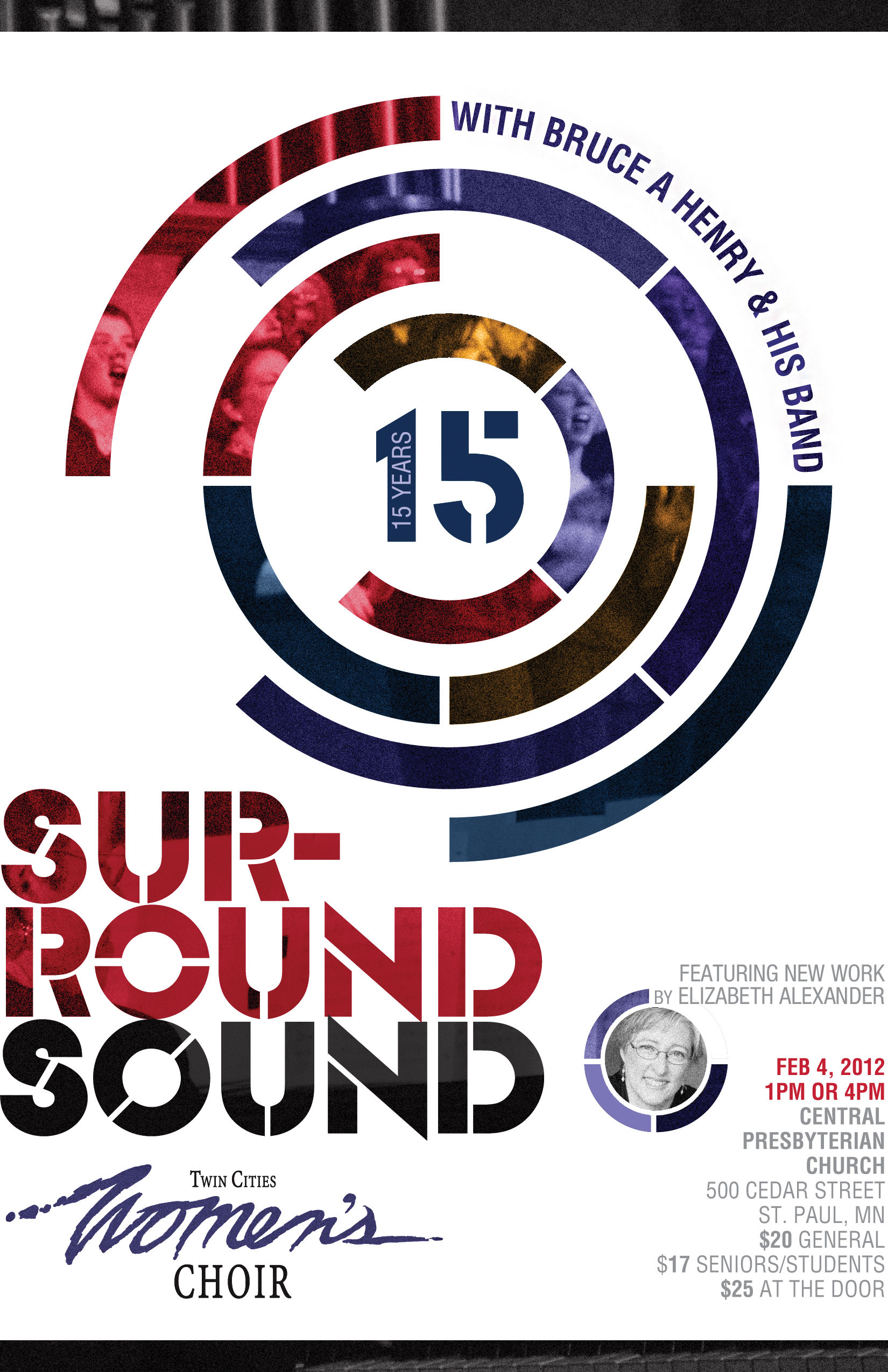 Surround Sound Concert Poster