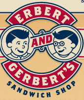 Erbert and Gerbert brand font
