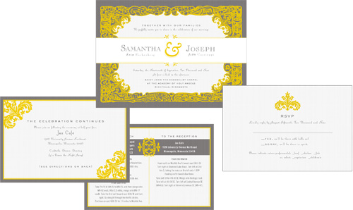Mockup of full invitation