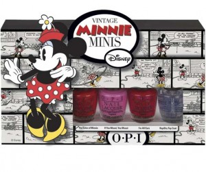 OPI Minnie Mouse theme