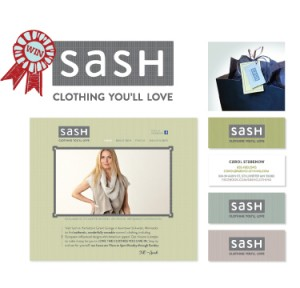 Sash branding award-winning design by Mix Creative